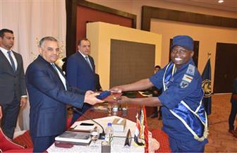"""تخريج 42 متدربًا من 25 دولة إفريقية بدورة """"حراسة الشخصيات وتأمين المنشآت المهمة"""" بأكاديمية الشرطة"""