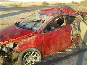 صحة مطروح: 22 مصابًا في حوادث تصادم وانقلاب على الطرق السريعة