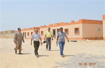 رئيس مدينة القصير يتفقد عددًا من المشروعات بالمدينة