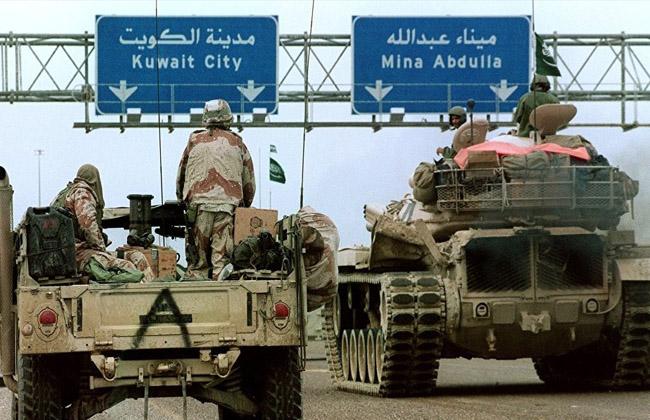 Image result for الغزو العراقي للكويت