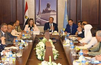 محافظ الإسكندرية: التعاون مع النواب يصب في صالح المواطن | صور