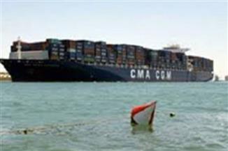 51 سفينة عبرت القناة من الاتجاهين بحمولة 2 مليون و500 ألف طن