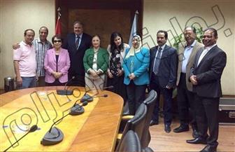 بوابة الأهرام تنفرد بلقطة لآخر اجتماعات لجنة ميثاق الشرف الإعلامى قبل إقراره
