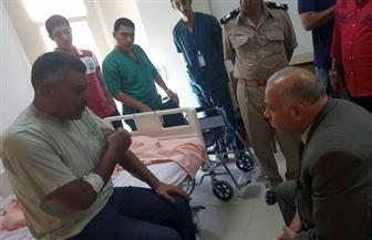 إصابة ضابط ومجند أطلق عليهما ملثمان النار في دمياط