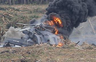 مقتل 7 أشخاص إثر اصطدام طائرة صغيرة ومروحية في إسبانيا