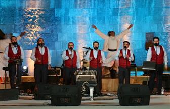 """خلال حفلهم بمهرجان القلعة.. """"الإخوة أبو شعر"""" يهدون الجمهور أغنية """"أهل مصر"""""""