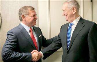 عاهل الأردن يبحث مع وزير الدفاع الأمريكي الشراكة الإستراتيجية والقضايا الإقليمية