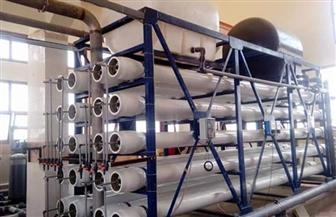 بدء التشغيل التجريبي لمحطة تحلية المياه بمدينة مرسى علم | صور
