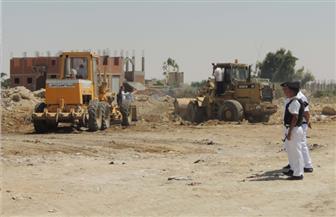 أمن السويس يُزيل تعديات على 60 فدانًا بمزارع سمكية مملوكة للدولة | صور