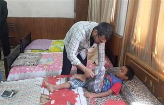 """جامعة الفيوم تُنظم قافلة طبية لأطفال وعاملين بملجأ """"عائشة حسانين"""""""