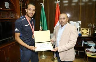 محافظ المنوفية يكرم أعضاء بمنتخب مصر للصم بعد حصولهم على برونزية الألعاب الأوليمبية