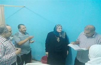وكيل صحة المنوفية تتفقد مستشفى الشهداء وتوجه بنقل مريض إلى حميات منوف | صور