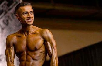 """أحمد ضياء.. بطل مصرى تخرج في كلية إدارة الأعمال بـ""""لندن"""" وتألق في كمال الأجسام بـ""""تكساس"""""""