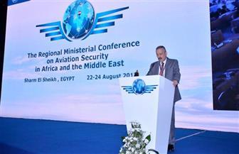 رئيس سلطة الطيران يستعرض مخاطر الهجمات الإليكترونية وتأثيرها علي أمن الطيران