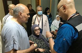 """رئيس بعثة الحج الطبية يتفقد عيادات منطقة """"كدي"""" بمكة المكرمة"""