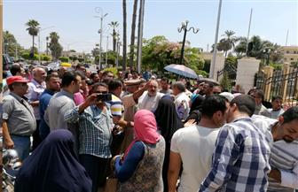 متضرري الإسكان الاقتصادي والاجتماعي ينظمون وقفة احتجاجية أمام محافظة كفرالشيخ