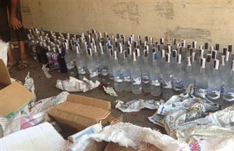 """ضبط مصنع """"خمور"""" مجهولة المصدر بالقاهرة"""