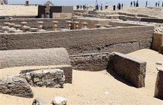 الآثار: الكشف عن 5 مقابر ترجع للعصر الروماني بمنطقة بئر الشغالة بالواحة الداخلة