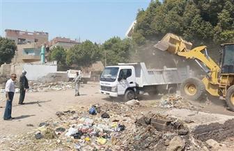 رفع 65 طن مخلفات بقرية بني قرة في القوصية | صور