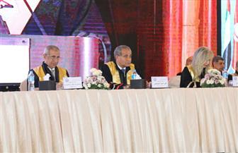 بدء حفل الأكاديمية العربية للعلوم والتكنولوجيا والنقل البحري بحضور وزير التموين