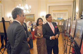 بالصور: سفارة الهند بالقاهرة تحتفل بمرور سبعين عامًا على العلاقات الدبلوماسية بين البلدين