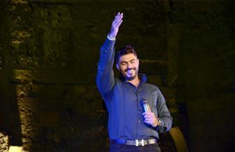 """استقبال حافل لـ """"خالد سليم"""" ضمن حفلة بمهرجان القلعة"""