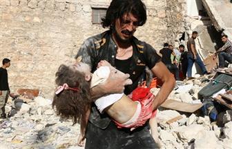 استشهاد طفلتين جراء سقوط قذائف صاروخية على بلدة الزهراء بحلب