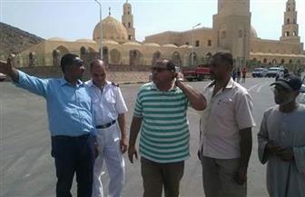 رئيس مدينة مرسى علم يتفقد الاستعدادات لاحتفالات مولد أبوالحسن الشاذلي| صور