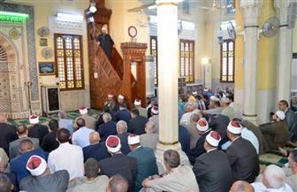 """""""حماية الأوطان.. بين فرض العين وفرض الكفاية"""" فى خطبة الجمعة بمساجد الإسكندرية"""