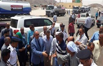 محافظ البحر الأحمر يتفقد قرية الشيخ الشاذلى بمرسى علم| صور