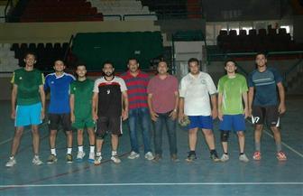 منتخب جامعة المنوفية لكرة اليد يستعد لأسبوع شباب الجامعات