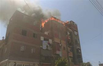 إصابة ربة منزل ووالدتها وأنجالها الثلاثة في حريق منزل بسوهاج