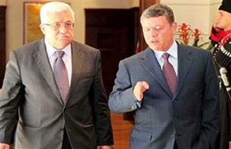 الرئيس الفلسطيني والعاهل الأردني يبحثان التطورات في القدس وقطاع غزة