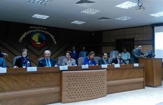 وزيرا التنمية المحلية والتخطيط يفتتحان المركز التكنولوجي بمحافظة البحيرة  صور