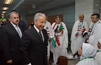 بعثة الحج للقوات المسلحة تغادر إلى الأراضي المقدسة.. وسفير السعودية في وداعهم| صور