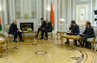 شكري يعقد جلسة محادثات موسعة مع وزير خارجية بيلاروسيا