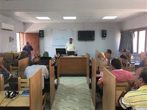 """""""تعليم الغربية"""": ورش تدريبية على تشغيل معامل اللغات بالإدارات العشر   صور"""