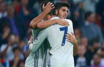 أسنسيو يظهر قدرته على تعويض غياب رونالدو عن صفوف ريال مدريد