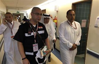رئيس البعثة المصرية للحج يزور المرضى المحتجزين في مستشفى النور بمكة | صور