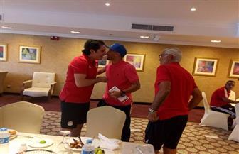 محمود تريزيجيه ينضم لمعسكر المنتخب | صور