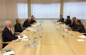 وزير الخارجية يختتم زيارته إلي بيلاروسيا بلقاء رئيس الجمعية الوطنية