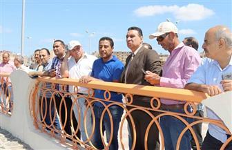 السكرتير العام المساعد لمحافظة كفرالشيخ يتفقد عمليات إنشاء كورنيش بحيرة البرلس | صور