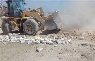 إزالة 6 حالات تعدٍ على الأراضي الزراعية بمركزي أبوتيج والغنايم | صور