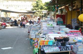 ضبط 30 ألف كتاب خارجي دون ترخيص داخل مكتبة بالفجالة