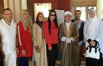 """""""الموسيقي الروحية"""" جمعت سمية الخشاب وأحمد سعد في تونس"""