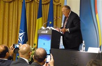 وزير الخارجية ضيف شرف الملتقى السنوي لسفراء رومانيا بالخارج | صور