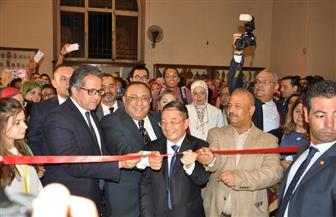 """ملوك وملكات مصر في معرض """"وجوه فرعونية""""   صور"""