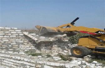إزالة 565 إشغال طريق ووقف بناء مخالف في حملة بالبحيرة