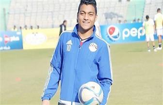 مصطفى محمد يحتفل بتأهل الزمالك لنهائي الكأس مع اللاعبين ببرج العرب