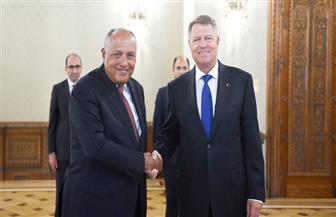 وزير الخارجية يسلم رئيس رومانيا خطابًا من السيسي لتعزيز العلاقات الثنائية   صور